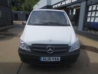 2015 Mercedes-Benz Vito 113 2.2DCi LWB *E/Pack*Cruise*2xSLD* Diesel white Manual