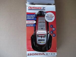 Honda Optimate 3+  Battery Charger/Tester  Tender