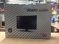 """NEW Packard Bell Viseo 220DX 21.5"""" 1920x1080 Monitor in Black"""
