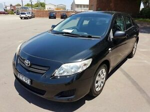 2008 Toyota Corolla ZRE152R Ascent Black 4 Speed Automatic Sedan Georgetown Newcastle Area Preview