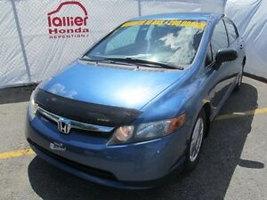 2008 Honda Civic DX-G BERLINE + GARANTIE 10ANS/200.000KM