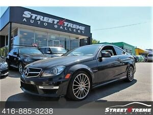 2013 Mercedes-Benz C63 AMG NAVI, CAM, KEYLESS, CLEAN CARPROOF