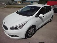 LHD 2013 Kia Ceed 1.4CRDI 5 Door SPANISH REGISTERED