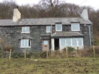 Two bedroom mid-terraced house available to rent in Tregarth; rural location, fine views, parking