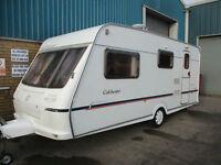 Fleetwood Colchester 560EB 4 berth touring caravan