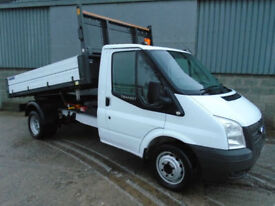 Ford Transit 350 TDCi one stop tipper 2012