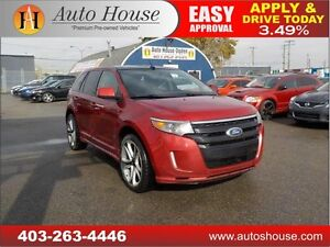 2011 FORD EDGE SPORT AWD NAVI B CAM LEATHER PANO ROOF