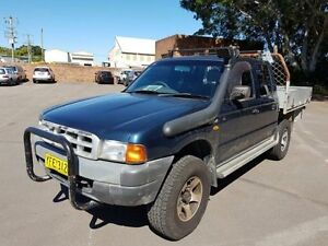 2002 Ford Courier PE GL (4x4) Blue 5 Speed Manual 4x4 Crewcab Georgetown Newcastle Area Preview