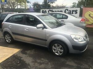 2008 Kia Rio Silver 5 Speed Manual Hatchback Campbelltown Campbelltown Area Preview