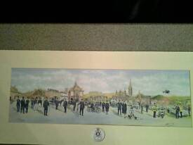 Wiltshire police limited edition print
