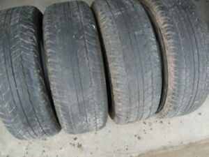 GREAT SET OF 4 265/65R17 $40 FOR ALL 4