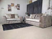 BRAND NEW CORNER SOFA OR 3 + 2 SEATER DIFFERENT COLOURS