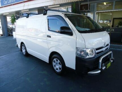 2012 Toyota Hiace TRH201R MY11 Upgrade LWB White 4 Speed Automatic Van Hamilton Newcastle Area Preview