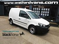2013 Volkswagen Caddy C20 1.6TDi 102ps E/Windows Diesel white Manual