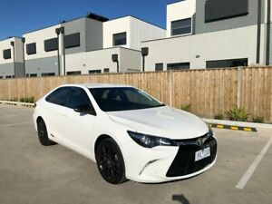 2017 Toyota Camry ASV50R RZ White 6 Speed Sports Automatic Sedan Maidstone Maribyrnong Area Preview