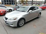 2007 Lexus IS250 GSE20R Sports Luxury Silver Sports Automatic Sedan Lansvale Liverpool Area Preview