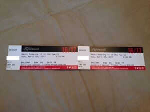2 Symphony Tickets: Bach:Keeping it in the Family(Apr 9,Toronto)