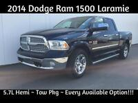 2014 Ram 1500 Laramie~Get Approved for Low B/W Payments!!!