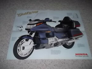 1988 Honda Goldwing Brochure