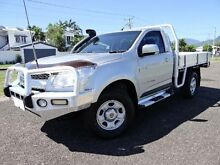 2013 Holden Colorado RG LX (4x4) Silver 5 Speed Manual Cab Chassis Bungalow Cairns City Preview