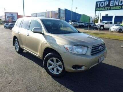 2007 Toyota Kluger GSU45R KX-R (4x4) 5 Seat Gold 5 Speed Automatic Wagon Bungalow Cairns City Preview