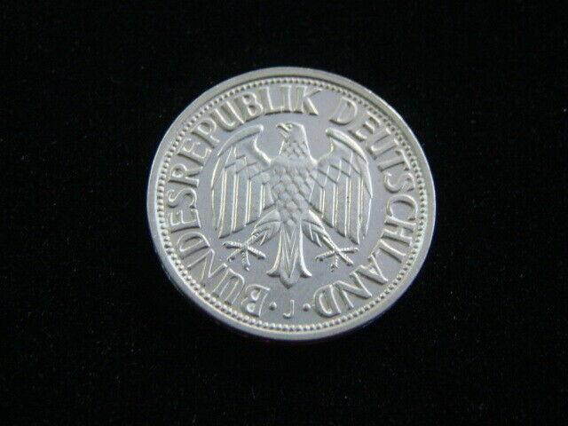 Germany 1950-J Silver 1 Mark AU KM#110 30712