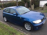 BMW 1 Series FSH+1YR MOT+HPI CLEAR+1 LADY FORMER KEEPER+2 KEYS