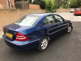 Mercedes-Benz C Class*AUTOMATIC* 2.1 C220 CDI Elegance,2 OWNERS,FULL SERVICE,HPI CLEAR
