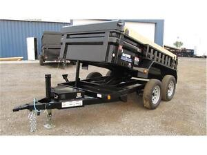 2017 TANDEM AXLE 5FT X 10FT DUMPBOX (7,000 LB GVW)