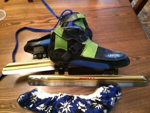bottine de patin de vitesse de marque Lafond