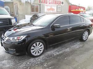 2013 HONDA ACCORD EX-L V6 // LEATHER HEATED SEATS // BACKUP CAM