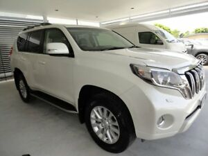 2013 Toyota Landcruiser Prado KDJ150R MY14 VX White 5 Speed Sports Automatic Wagon West Ballina Ballina Area Preview