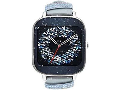 ASUS ZenWatch 2 Android Wear Smartwatch with Adept Charge & Silver Case, Swarovs