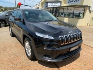 2014 Jeep Cherokee KL Sport (4x2) Black 9 Speed Automatic Wagon