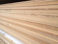 Mixed MDF sheets - 8ft x 6ft at 22 or 25mm thick - ideal for racking, shelving, cladding