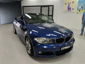 2008 BMW 125i E88 Le Mans Blue Automatic Convertible