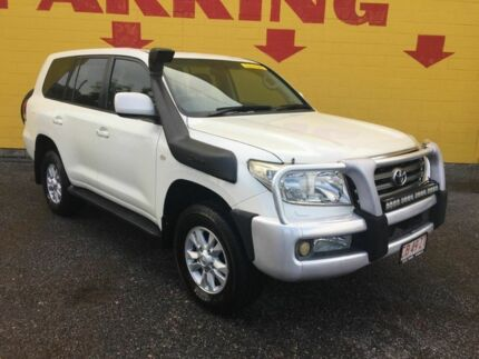 2008 Toyota Landcruiser VDJ200R Sahara White 6 Speed Sports Automatic Wagon Winnellie Darwin City Preview