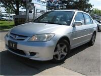 2005 Honda Civic Sdn Si 147km VERY CLEAN - SUNROOF - WE FINANCE