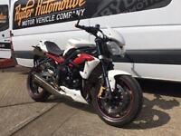 2012 - TRIUMPH STREET TRIPLE R, EXCELLENT CONDITION, £5,500 OR FLEXIBLE FINANCE