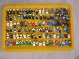 6 x genuine random lego figures + accessories postage included