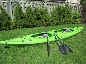 Kayak double Necky Manitou II avec pagaie & jupettes (skirt)