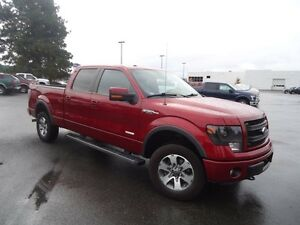 2013 Ford F-150 FX4 Luxury Package 4x4 SuperCrew Cab 6.5 ft. box