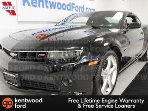 2015 Chevrolet Camaro 2LT RWD Coupe black on black, you'll never