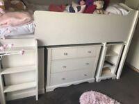 'Next' Midi Sleeper bed and storage