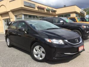 2014 Honda Civic LX - ACCIDENT FREE - ONE OWNER!