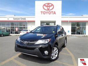 2014 Toyota Rav4 LIMITED AWD ONE OWNER LOW KMS