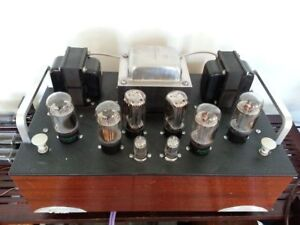 DIY stereo 6L6 stereo power amplifier