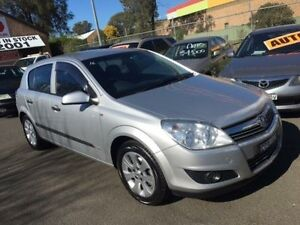 2008 Holden Astra AH MY08.5 60th Anniversary Silver 5 Speed Manual Hatchback Campbelltown Campbelltown Area Preview