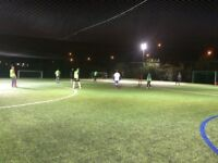 Friendly 7-a-side football in Beckton, East London. Looking for new players!