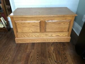 Solid Oak Chest